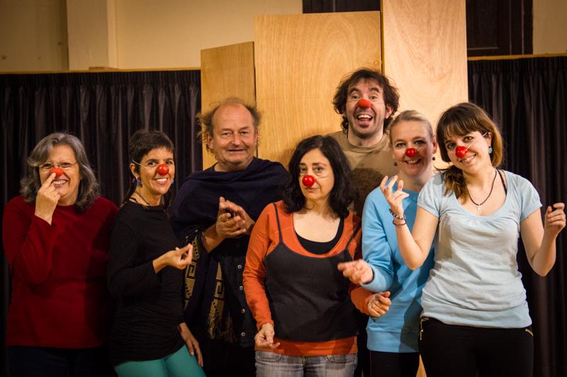 13-05-12 Jaume Pujadas - Curs clown Eric de Bont - Sant Feliu de Guixols 004R