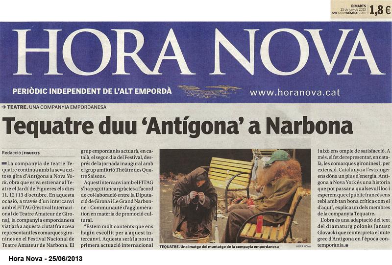 13-06-25 HN -Tequatre - Antigona a NY - Narbonne - P